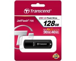 Флешка Transcend JetFlash 700 (TS128GJF700) (128Гб, USB 3.0)
