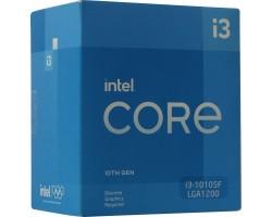 Процессор BOX Socket-1200 Intel Core i3-10105F 4C/8T 3.7/4.4GHz 6MB 65W (Без видео)