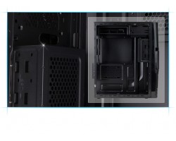 Корпус ZALMAN ZM-T3 Black (без БП)