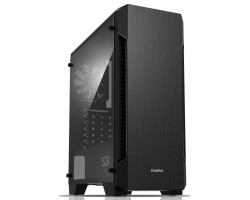 Корпус ZALMAN S3 Black Window (без БП)