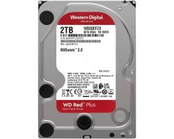 "HDD 3.5"" SATA-III WD 2Tb Red WD20EFZX 5400RPM 128Mb 6Gb/s NAS Hard Drives"