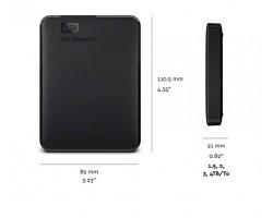 Внешний жесткий диск WD Elements Portable WDBU6Y0020BBK-WESN 2Тб