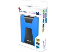 Внешний жесткий диск ADATA DashDrive Durable HD650 (AHD650-2TU31-CBL) 2Тб