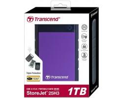 Внешний жесткий диск Transcend StoreJet 25H3 TS1TSJ25H3P 1 Тб