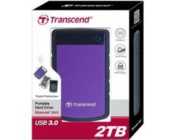 Внешний жесткий диск Transcend StoreJet 25H3 (TS2TSJ25H3P) 2Тб