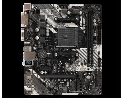Материнская плата ASRock B450M-HDV R4.0 (Socket AM4)