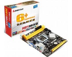 Материнская плата BIOSTAR H81MHV3 (Socket LGA1150)