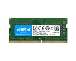 Оперативная память SODIMM DDR4 4Гб 2666МГц Crucial CT4G4SFS8266
