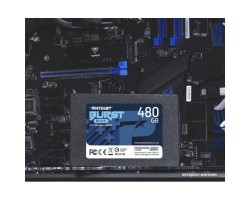 "Накопитель SSD 480 Гб SATA PATRIOT Burst Elite PBE480GS25SSDR (3D QLC, 2.5"")"