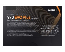 Накопитель SSD 1 Тб M.2 PCI-Express SAMSUNG 970 EVO Plus MZ-V7S1T0BW (3D TLC, M.2 Type 2280 M Key)