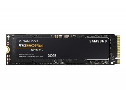 Накопитель SSD 250 Гб M.2 PCI-Express SAMSUNG 970 EVO Plus MZ-V7S250BW (3D TLC, M.2 Type 2280 M Key)