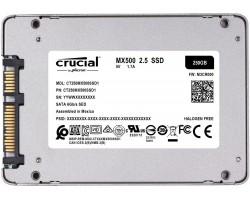 "Накопитель SSD 250 Гб SATA Crucial MX500 (CT250MX500SSD1) (TLC, 2.5"")"