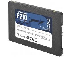 """Накопитель SSD 2 Тб SATA PATRIOT P210 P210S2TB25 (, 2.5"""")"""