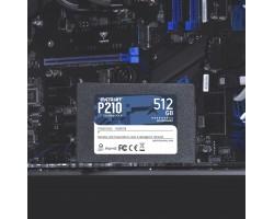 "Накопитель SSD 512 Гб SATA PATRIOT P210 P210S512G25 (, 2.5"")"