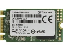 Накопитель SSD 240 Гб M.2 SATA Transcend MTS420S (TS240GMTS420S) (3D TLC, M.2 Type 2242 B&M Key)