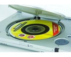 Диск для чистки дисководов Fellowes CD/DVD Lens Cleaner