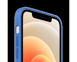 Аксессуары для iPhone APPLE MJYY3ZE/A iPhone 12 | 12 Pro Silicone Case with MagSafe - Capri Blue, Model A2497
