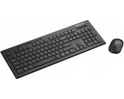 Клавиатура + мышь CANYON CNS-HSETW4-RU