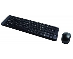 Клавиатура + мышь Logitech Wireless Combo MK220 920-003169