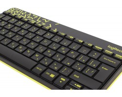 Клавиатура + мышь Logitech Wireless Combo MK240 Nano (920-008213)