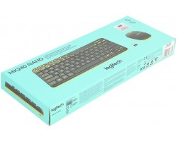 Клавиатура + мышь Logitech Wireless Combo MK240 Nano (920-008213)