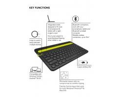 Клавиатура Logitech Bluetooth Multi-Device K480 920-006368