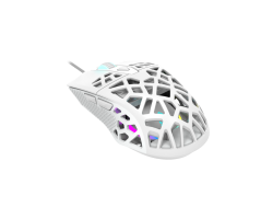Игровая мышь CANYON CND-SGM20W Puncher GM-20 High-end Gaming Mouse with 7 programmable buttons, Pixart 3360 optical sensor, 6 levels of DPI and up to 12000, 10 million times key life, 1.65m Ultraweave cable, Low friction with PTFE feet and colorful RGB li