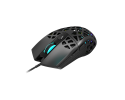 Игровая мышь CANYON CND-SGM20B Puncher GM-20 High-end Gaming Mouse with 7 programmable buttons, Pixart 3360 optical sensor, 6 levels of DPI and up to 12000, 10 million times key life, 1.65m Ultraweave cable, Low friction with PTFE feet and colorful RGB li