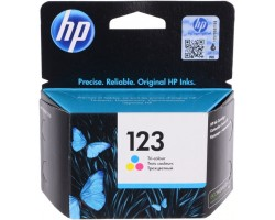 Оригинальный картридж HP 123 Трехцветный (F6V16AE)