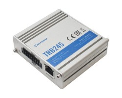 Маршрутизатор TELTONIKA TRB245000000 Small and durable industrial LTE Cat 4 Gateway equipped with a number of Input/Output, Serial, Ethernet ports. Number of features makes this Gateway perfect in application where legacy and modern industrial equipment m