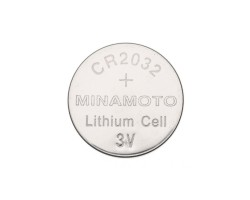 Батарейка MINAMOTO Lithium Battery 3V CR2032 (Литиевая, 3V, 1 шт.)